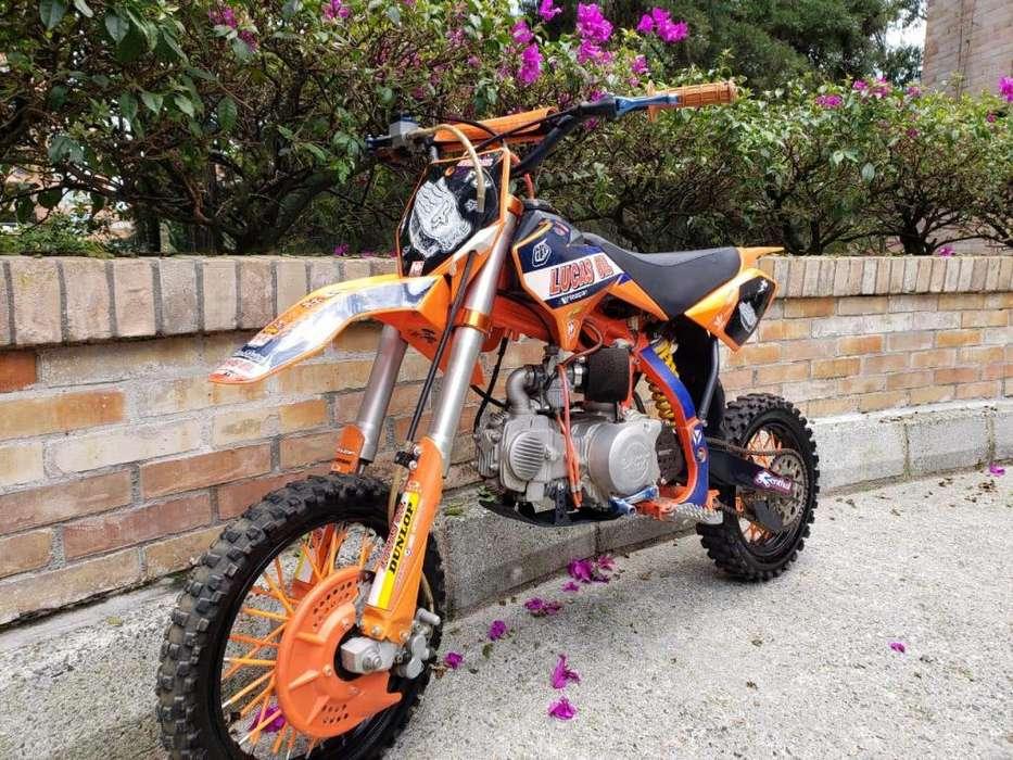 Vendo <strong>moto</strong> YCF Edicion Especial Lucas Oil 150
