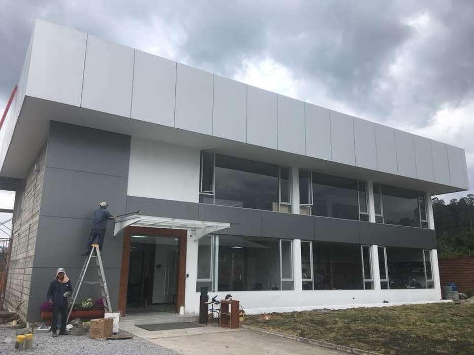 Venta panel de Alucobond Quito instalacion Fachadas Ecuador TECHART