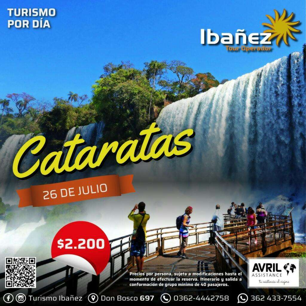 Tour Salinas Y Cataratas