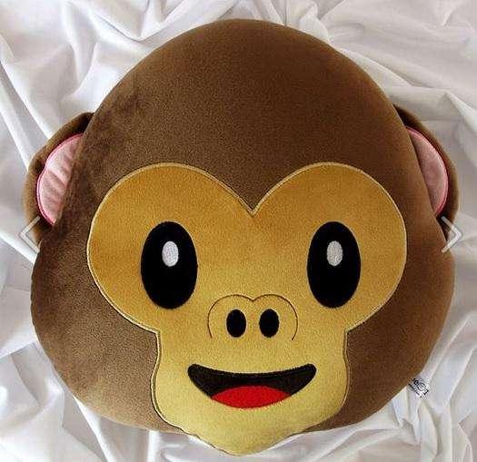 Mono y Oso Panda Cojin Almohada Bordado No Impreso Cojines