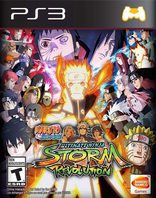 Vendo Naruto Shippuden Revolution para PS3