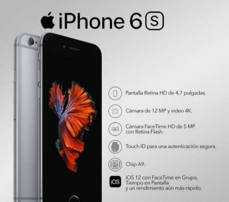 iPhone 6s 32gb Nuevo 900.000