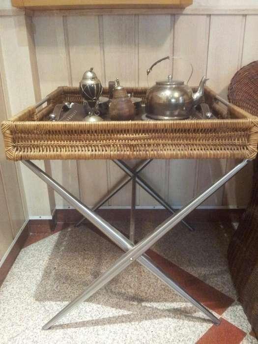 Mesa Rattan Desayunador Matera