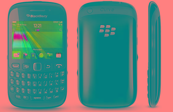 Celular Blackberry Curve 8520 a Reparar