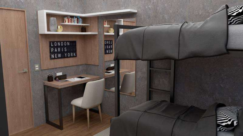 Departamento 1 Ambiente a estrenar full amenities Co-living CO-Working
