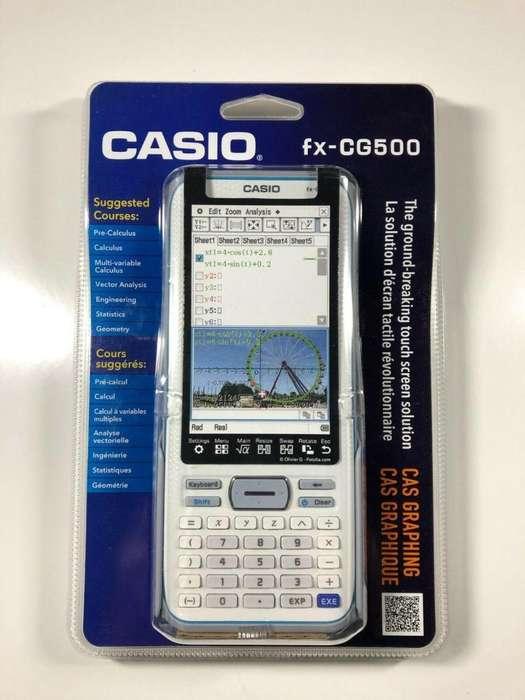 <strong>calculadora</strong> Casio fx-CG500 Tactil Color Sellada