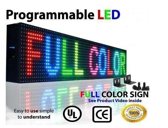 Letrero LED programable Full Color