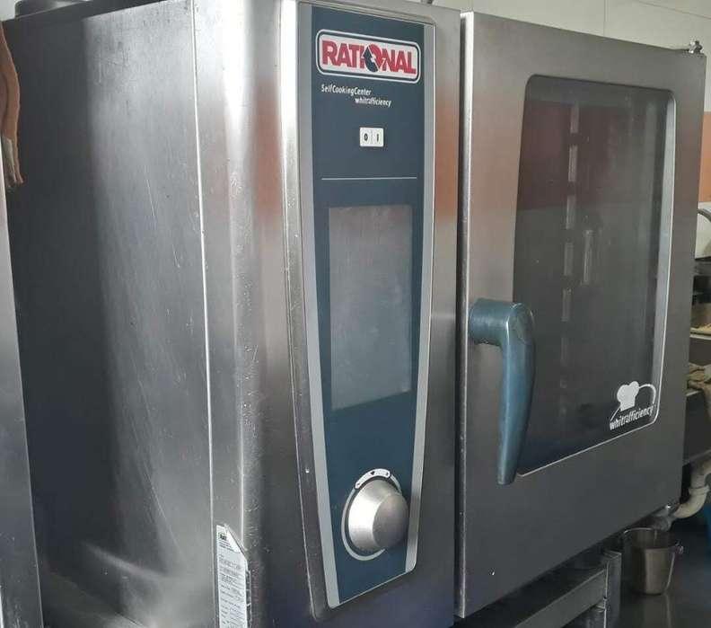 Horno Self cooking center