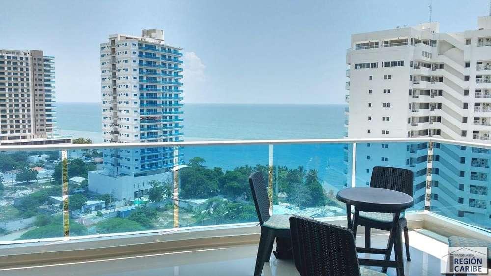Amplio <strong>apartamento</strong> de 3 alcobas con vista al mar, Playa Salguero