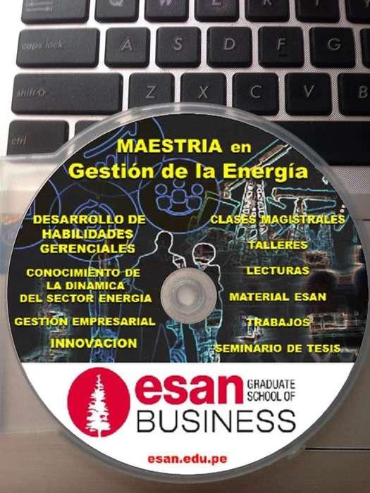 MAESTRIA EN GESTION DE LA ENERGIA ESAN