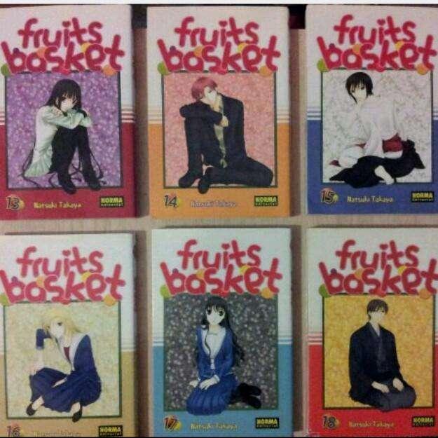 Colección manga FRUITS BASKET