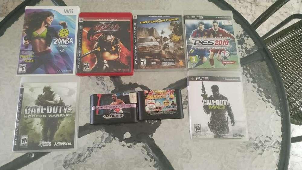 Juegos Ps3, Wii Y Sega