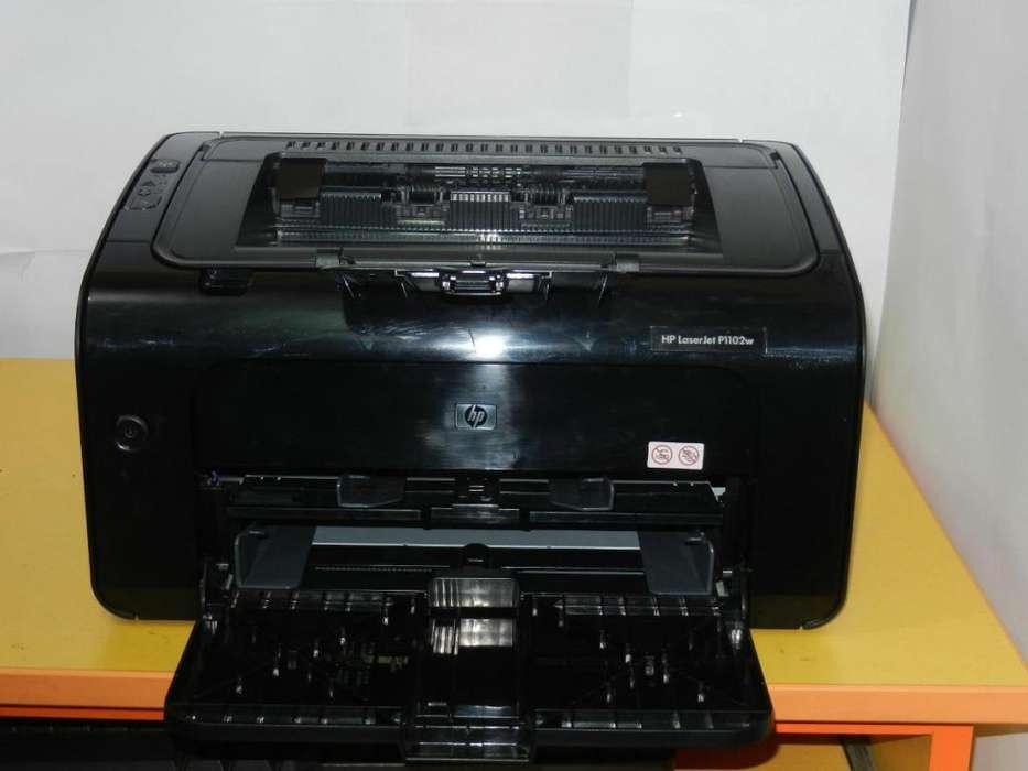 vendo impresora laser hp 1102w