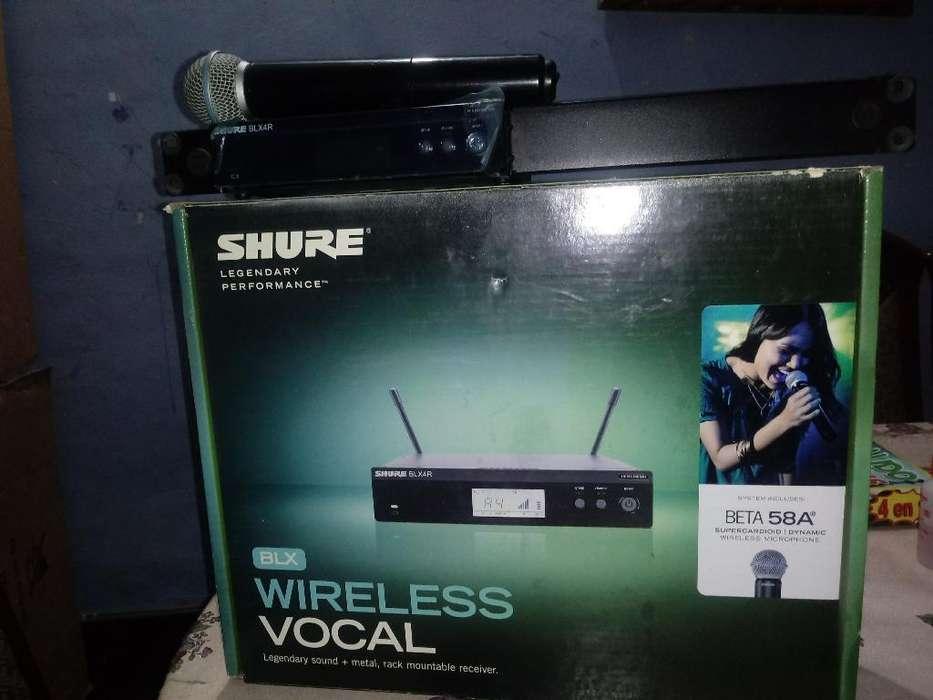 Microfono .shure.beta .58.a .inalambrico