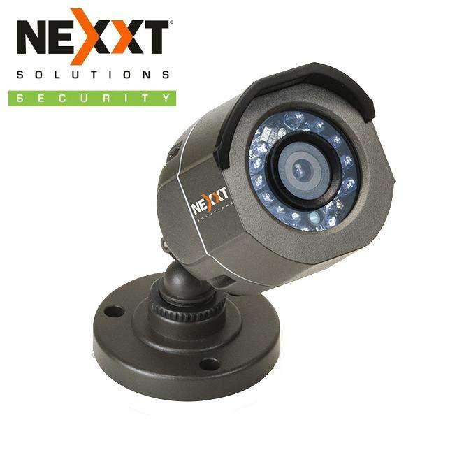 CAMARA CCTV TIPO BULLET NEXXT XPYH36MB HD TVI 720p 3.6mm DIA Y NOCHE OUTDOOR MAS CABLE MAS ADAPTADOR