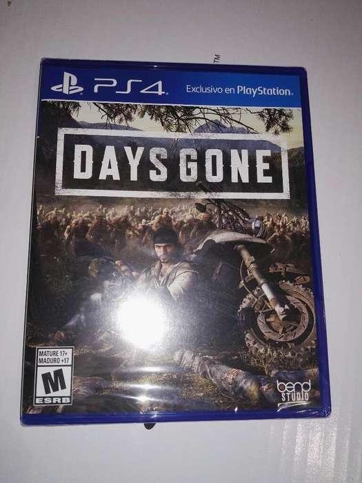 Vendo Nuevo Days Gone