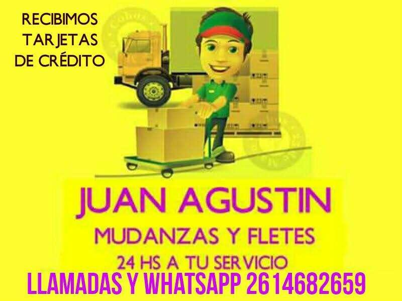Fletes Y Mudanzas Juan Agustin 24 Hs LLAME AHORA 02614682659