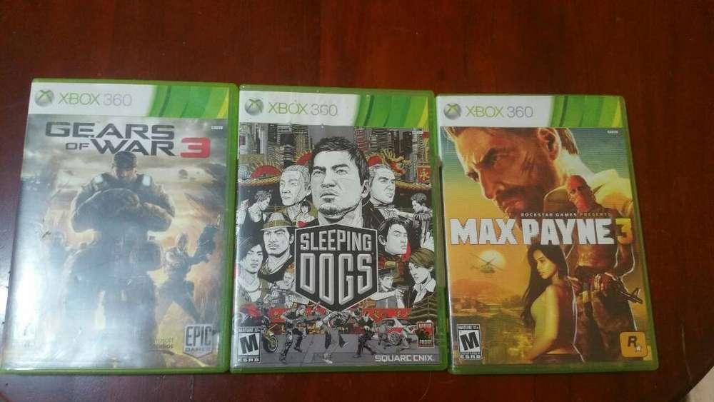 Vendo 3 Juegos Originales de Xbox 360