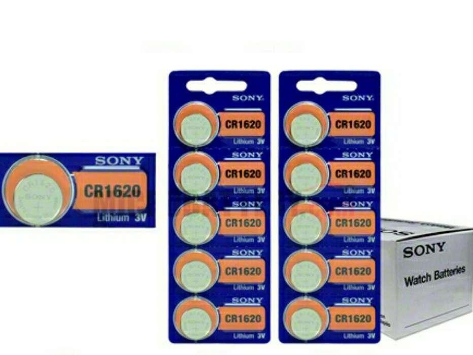 Sony Pila Cr1620 Litio 3v Usd 1.75 X 1 U