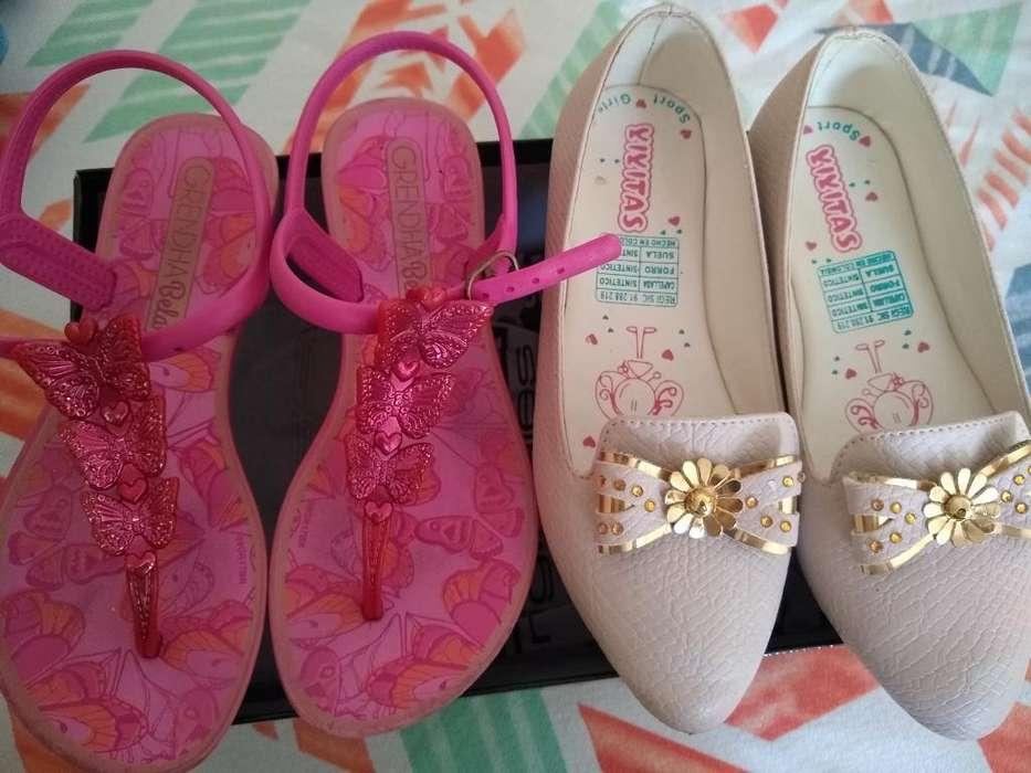 Vendo Zapatos Niña # 31-32