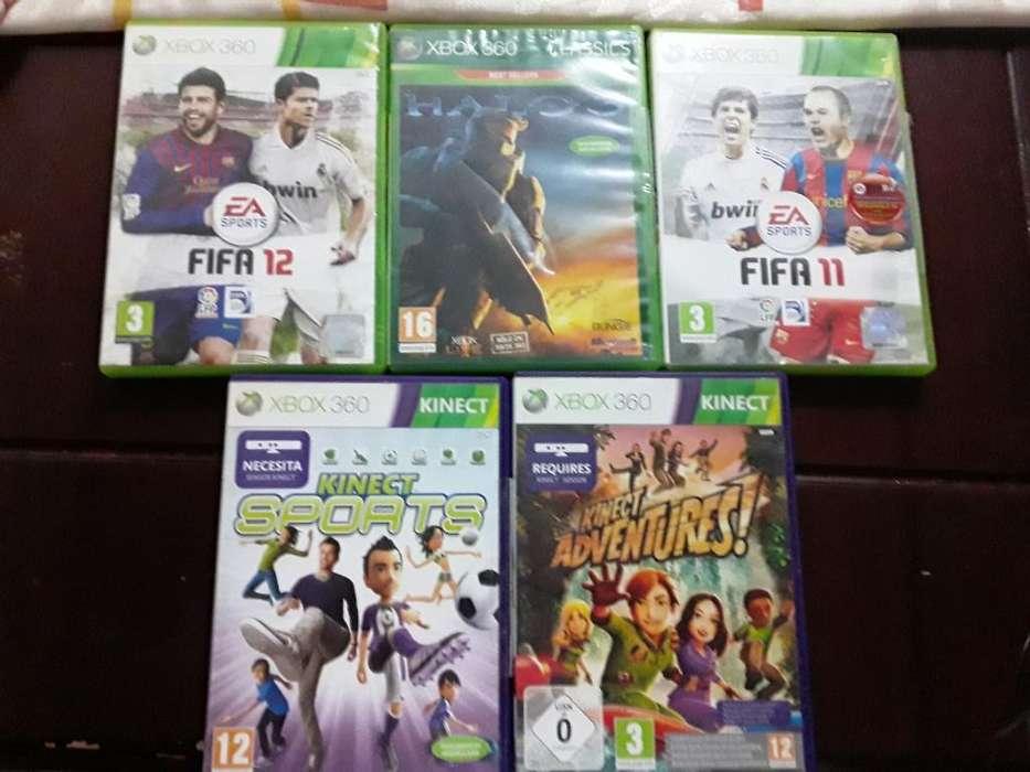 5 Juegos Originales Xbox 360 - Xbox One