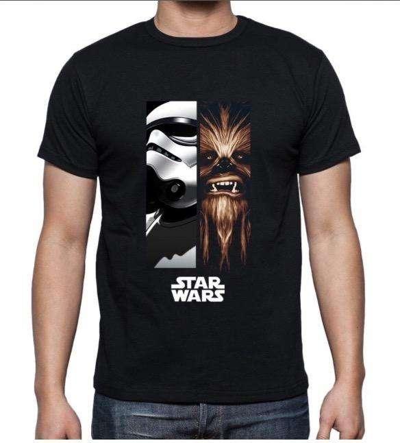 Camisetas Star Wars Estampadas