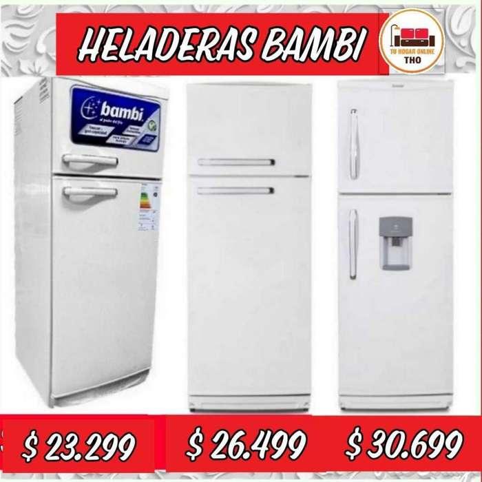 Heladera Bambi con Freezer // 239 litros // Modelo 2F1200 // Heladeras // Tu Hogar Online