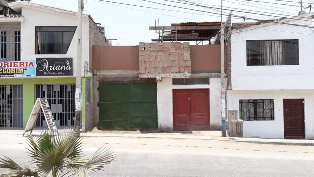 VENDO CASA COMO <strong>terreno</strong> EN VILLA EL SALVADOR