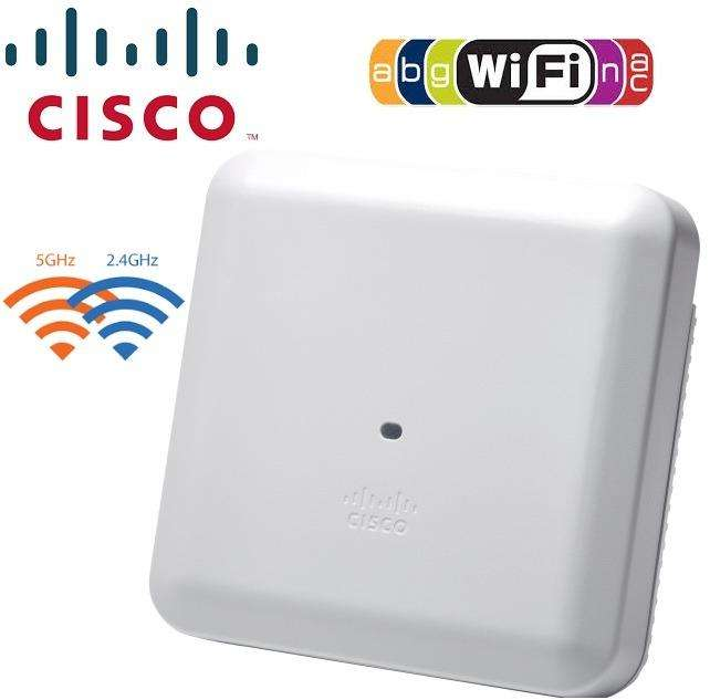 ACCESS POINT WIRELESS AC CISCO AIRONET AIR/AP2802I/A/K9C DUAL BAND 2600Mbps MU/MIMO 4x4 SOPORTE PoE