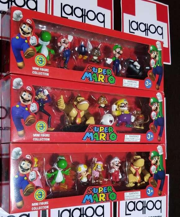 Set de Muñecos de Mario Bros