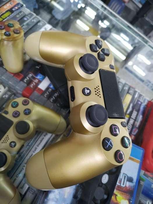Control Play 4 Dorado Original