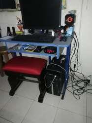 computador , i5 cpu, monitor teclado, mouse. memoria ddr4