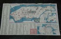 Mapa Guia New York 1968 Manhattan Nueva York Antiguo