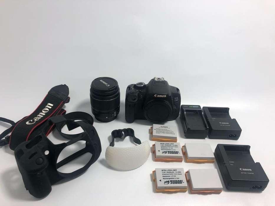 Camara Canon Eos 650D <strong>accesorios</strong>