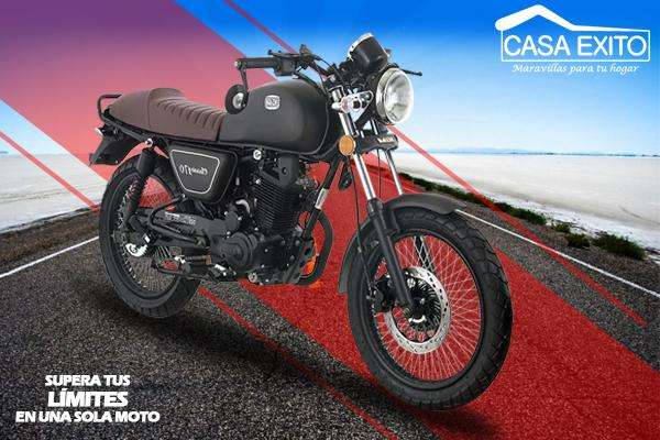 Moto Igm Classic 170cc Tipo Cafe Racer Año 2019 Color Negro / Gris