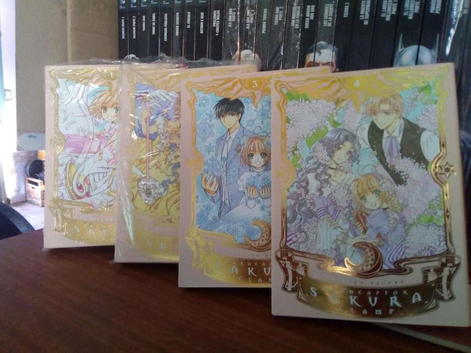 Sakura Card Captor Tomo 1 Al 4 Deluxe Edition