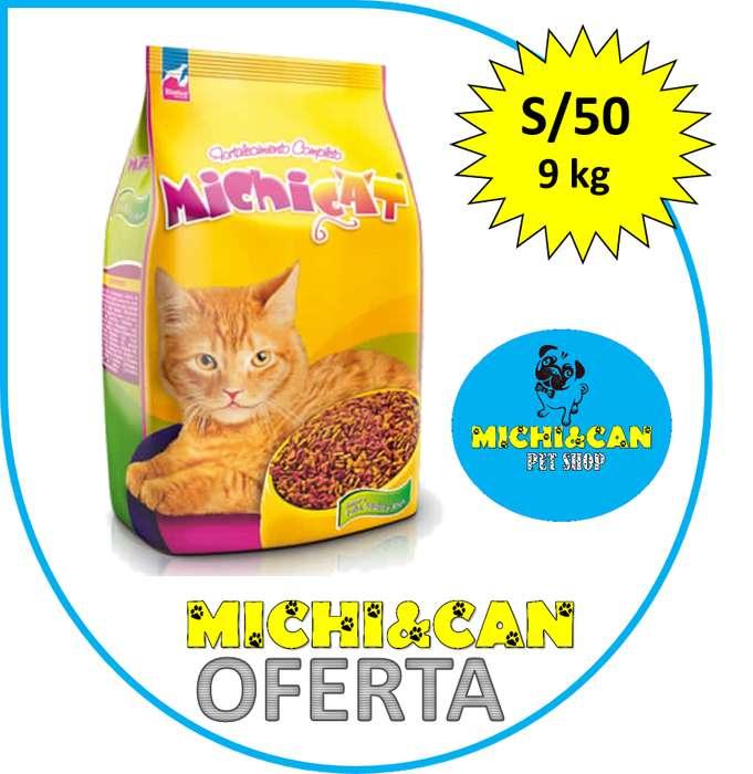 Michicat para Gato Adulto 9kg
