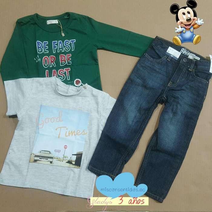 Lote de <strong>ropa</strong> Niño 3 Años