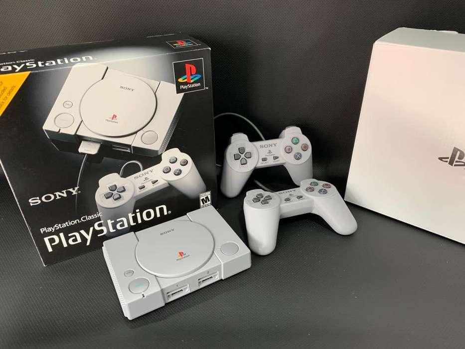 Playstation Clasic Mini de Paquete