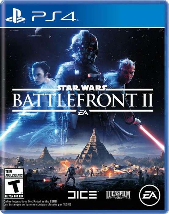 Juego Ps4 Star Wars Battlefront 2 Nuevo!