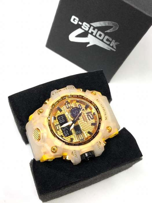 Reloj Casio G Shock Transparente 4