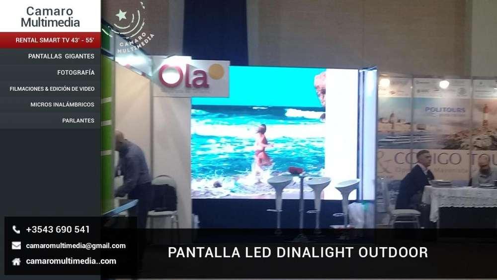 Alquiler de Pantallas Led y Smart Tv