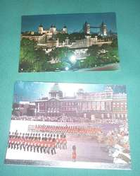 LOTE DE 8 TARJETAS POSTALES LONDRES INGLATERRA 1960 1970 SIN ESCRIBIR