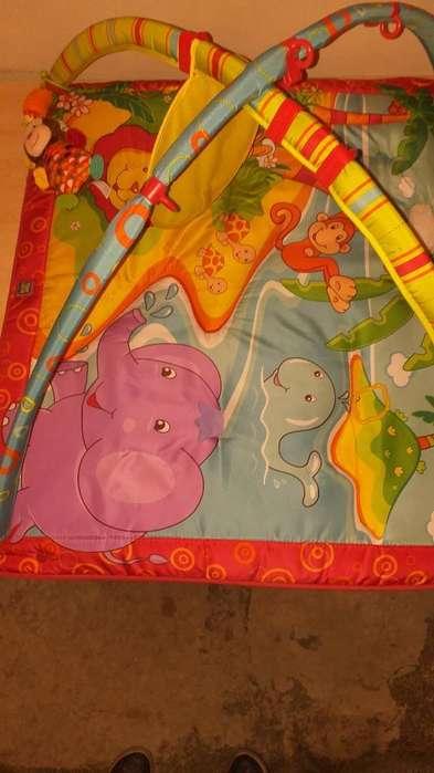 Manta Didactica Almohadilla Y <strong>juguetes</strong>