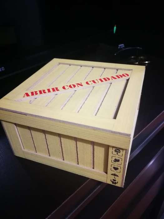 Caja Guacal para Regalo en Madera