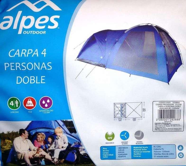 carpa marca alpes 4 personas