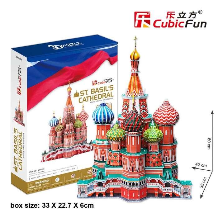 rompecabezas 3d St. Basils Cathedral Rusia Mc093
