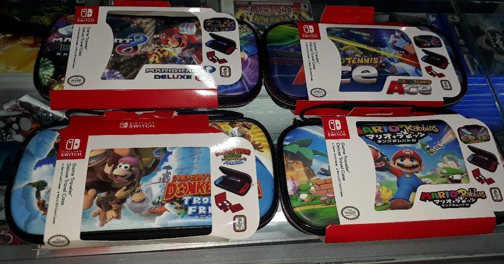 Estuches de Nintendo Switch