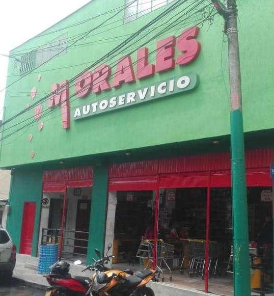 VENTA, LOCAL COMERCIAL SUPERMERCADO... AUTOSERVICIO MORALES