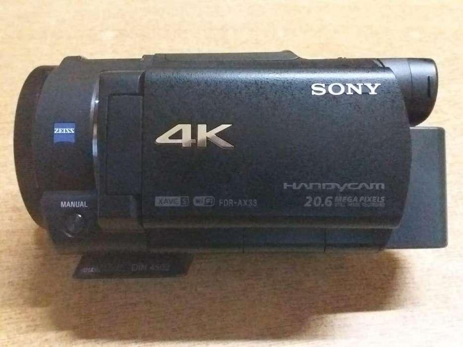 Camara SONY FDRAX33 4K Sin Uso!!!!